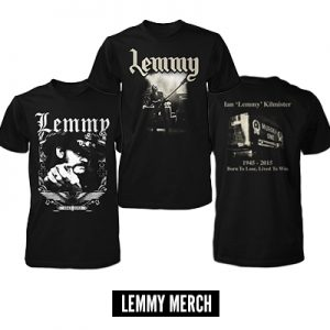 Lemmy Merch
