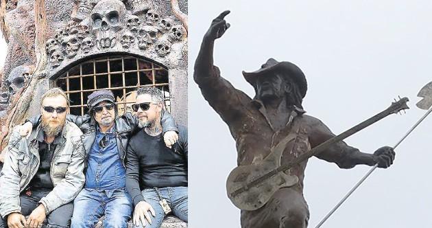 hellfest statue