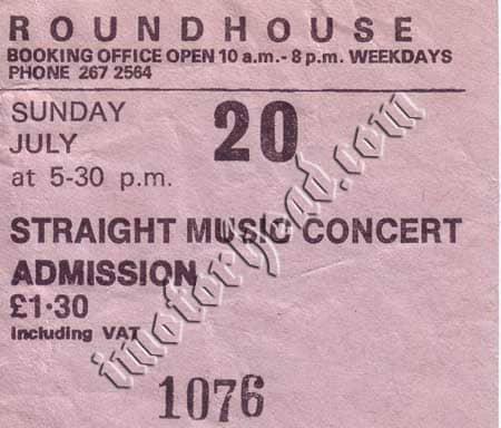 Motorhead first show