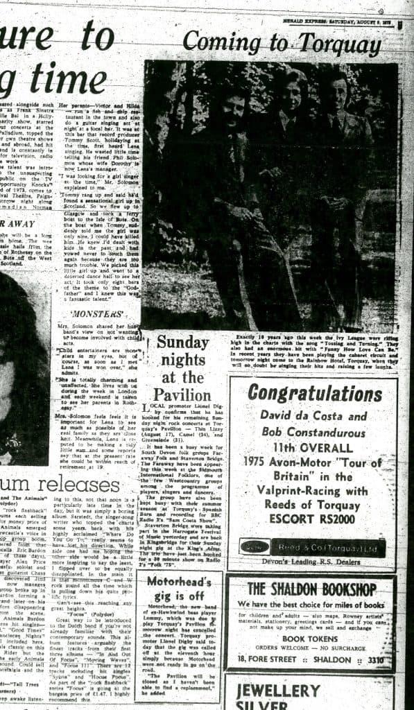 torquay 1975 paper