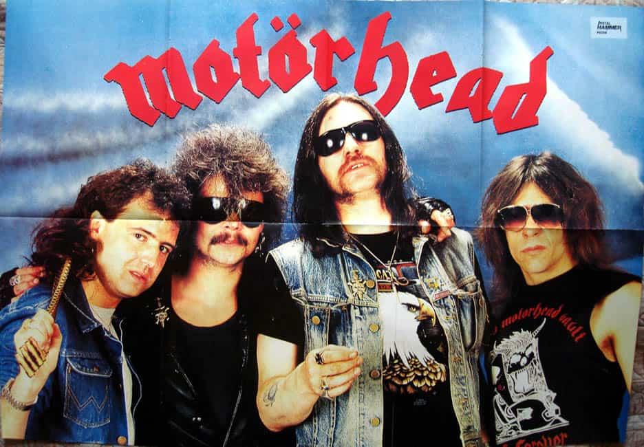 Metal Hammer Magazine Motorhead Poster