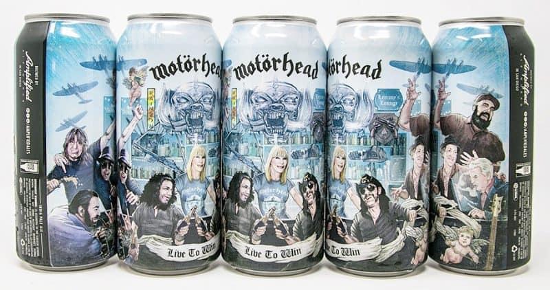 Motörhead IPA Live to Win