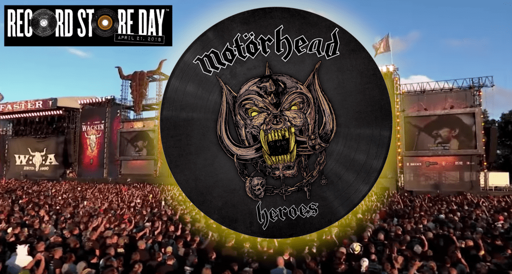 Record Store Day 2018 special collector's Motörhead vinyl