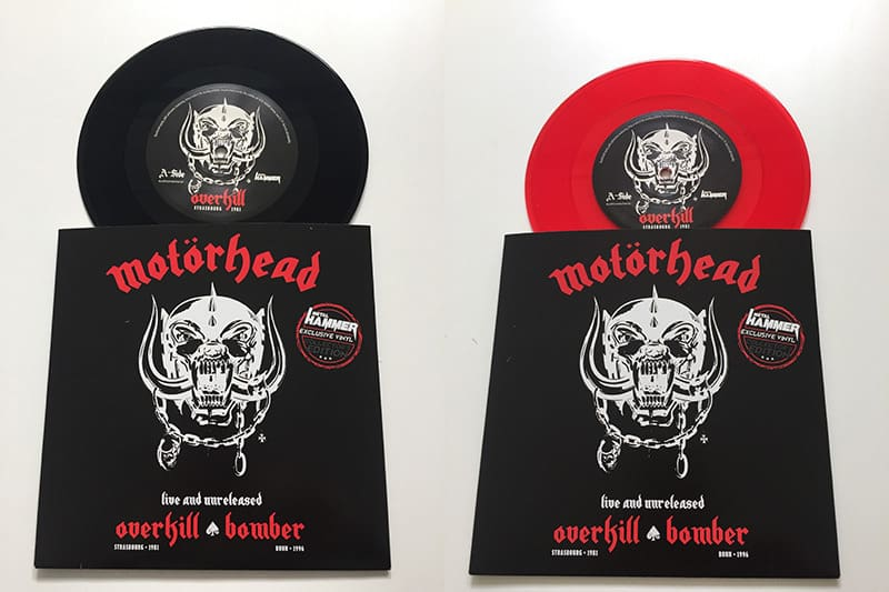 "Metal Hammer exclusive Motörhead 7"" single"
