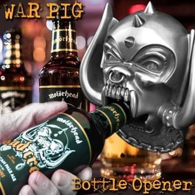 Motorhead Beer Opener Warpig Road Crew