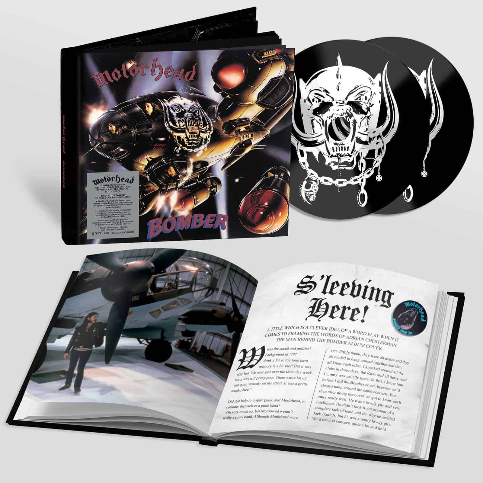 Bomber 40th Anniversary Deluxe 2CD Edition
