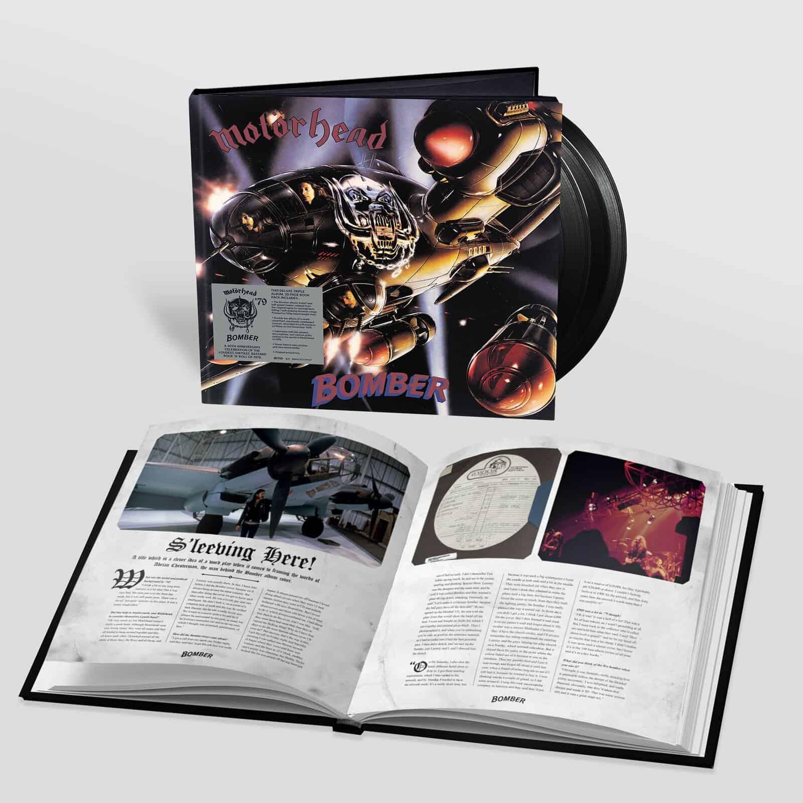 Bomber 40th Anniversary Deluxe 3 Album Edition