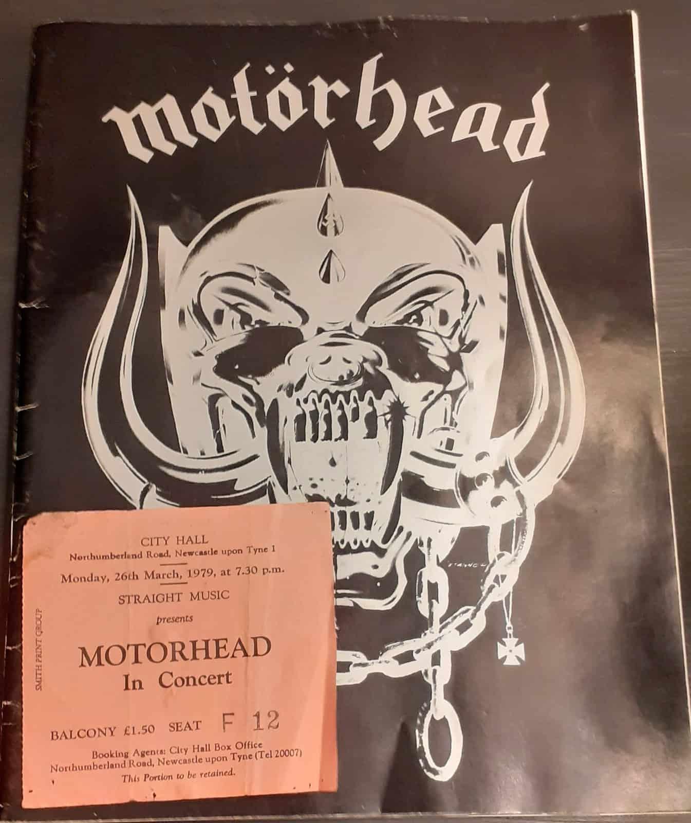 Motorhead March 26 1979