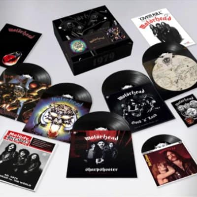 Motorhead 1979 box set