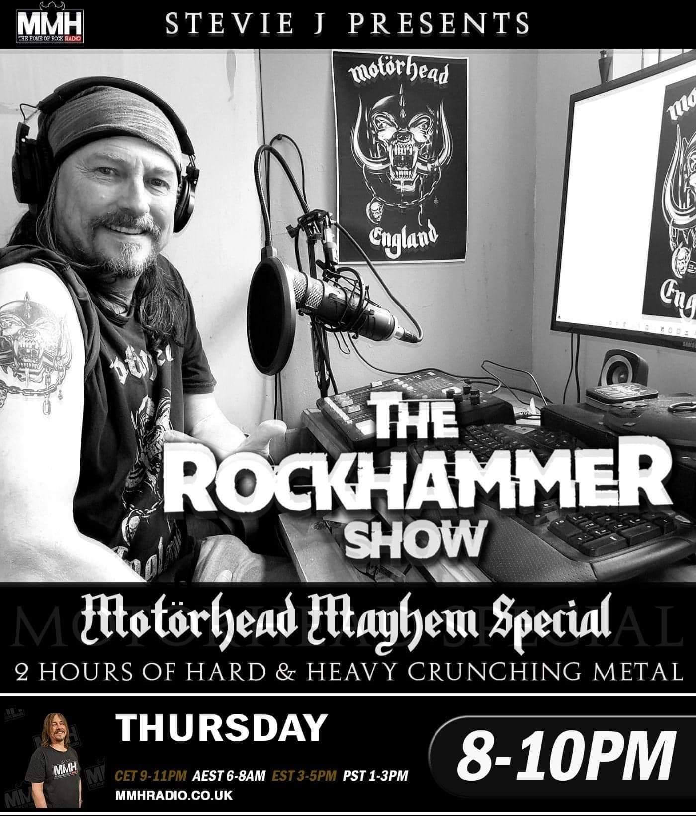 Rockhammer Motorhead Mayhem 2020
