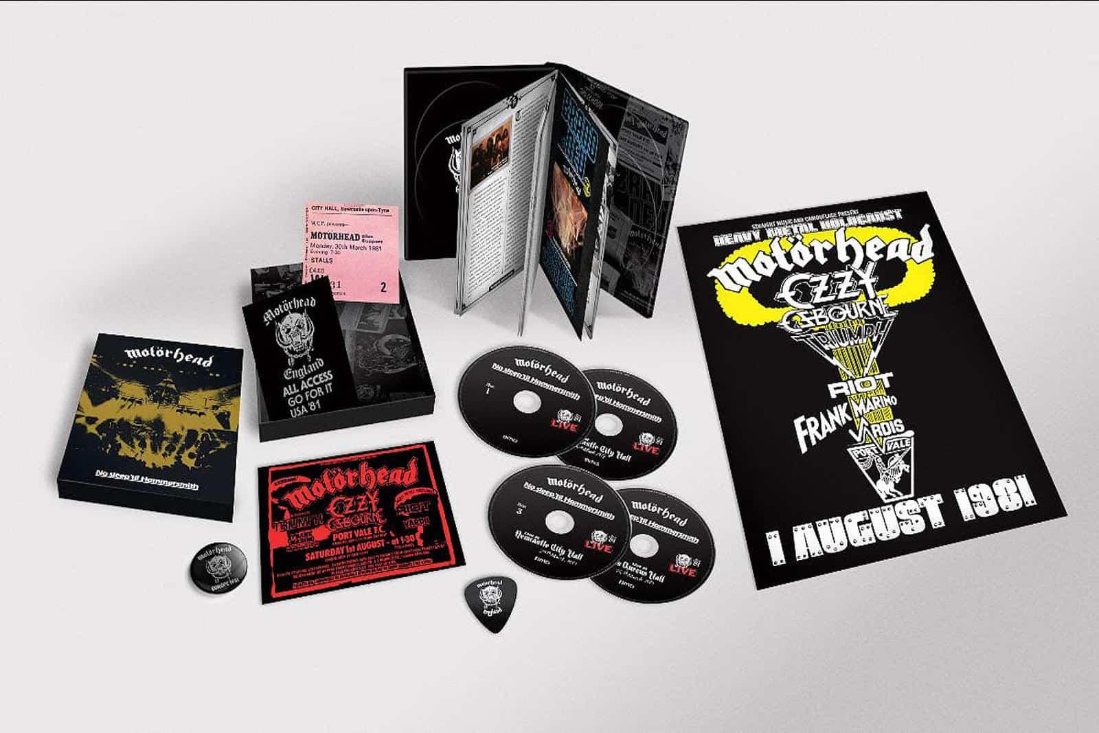 Motorhead Hammersmith Deluxe