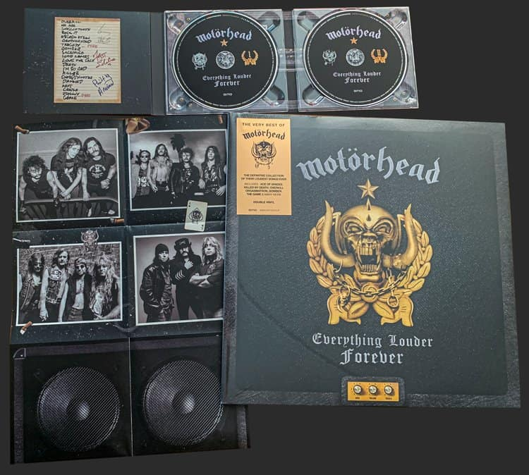 Everything Louder Forever definitive collection of Motörhead