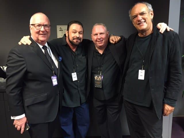 Neil Warnock, Todd Singerman, Steve Strange & Shep Gordon